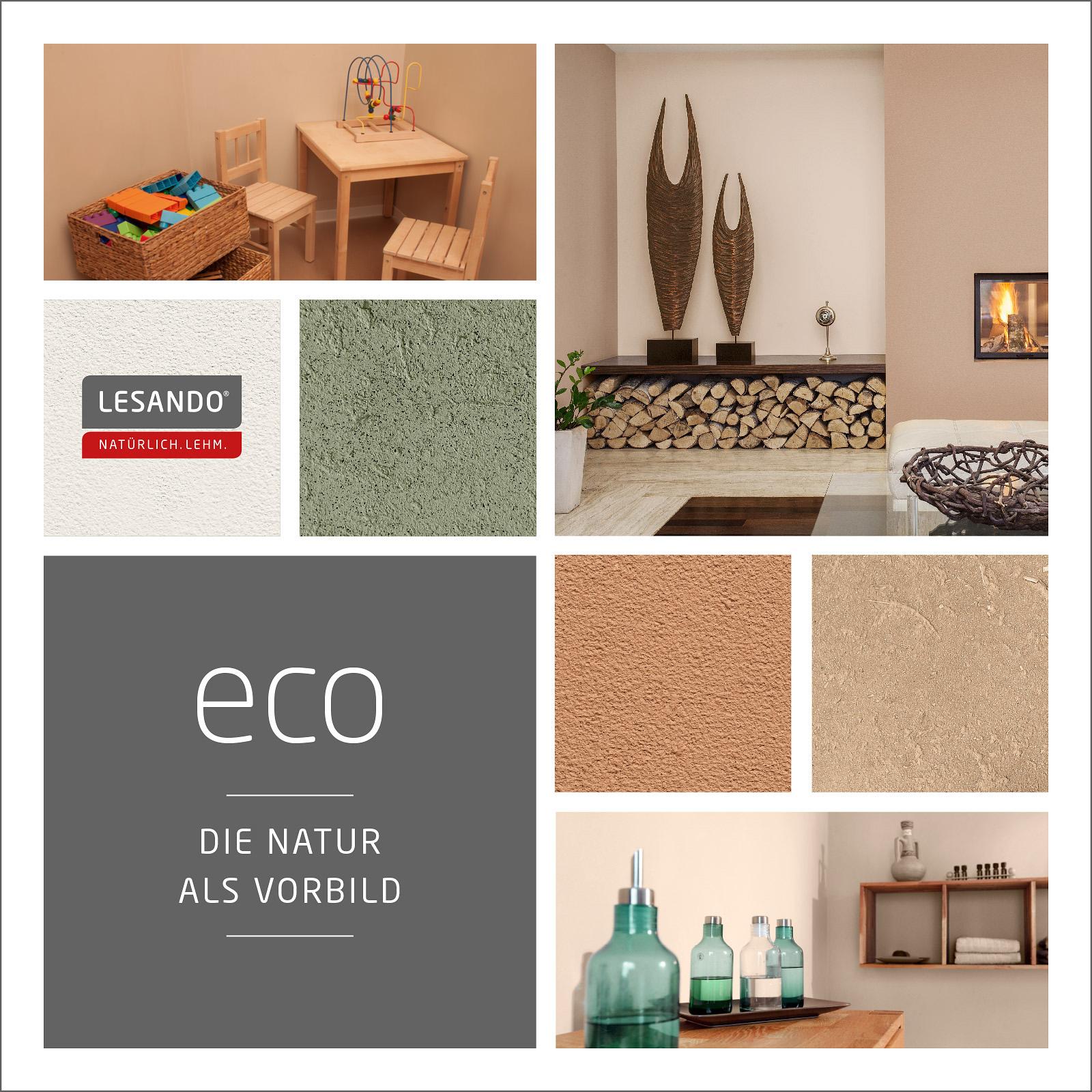Lesando Stilwelten Lehmputz Lehmfarbe Stilwelt eco